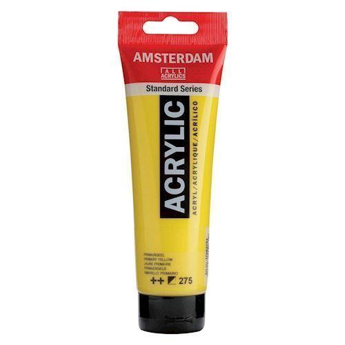 Image of   Amsterdam Akryl maling, Primer gul, 120ml