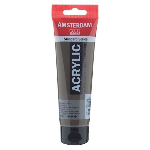 Image of   Amsterdam Akryl maling, Omber Natural, 120ml