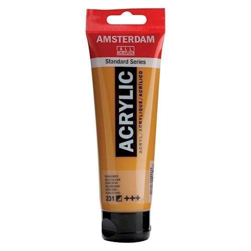 Image of   Amsterdam Akryl maling, guld ochre, 120ml