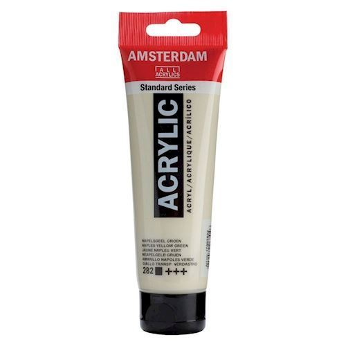 Image of   Amsterdam Akryl maling, Naples gulgrøn, 120ml