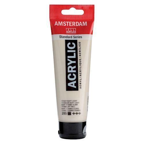 Image of   Amsterdam Akryl maling, Titanium buffer Lys, 120ml