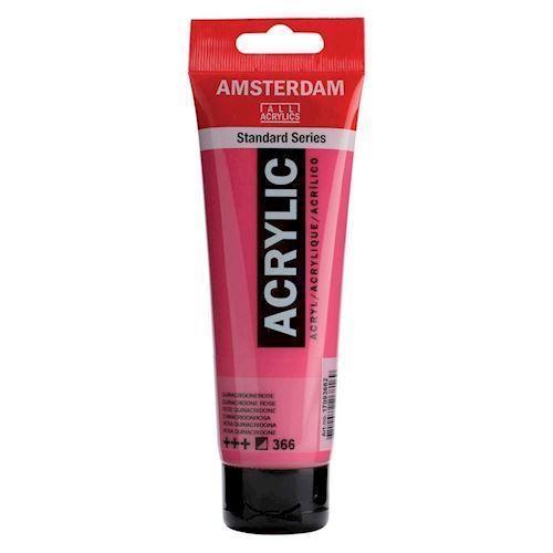 Image of   Amsterdam Akryl maling, pink, 120ml