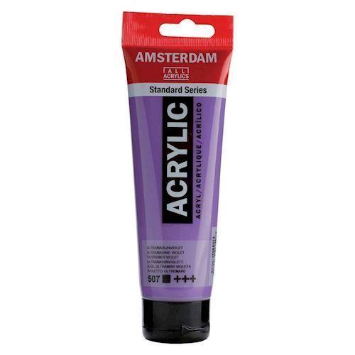Amsterdam Akryl maling, Ultramarine Violet, 120ml