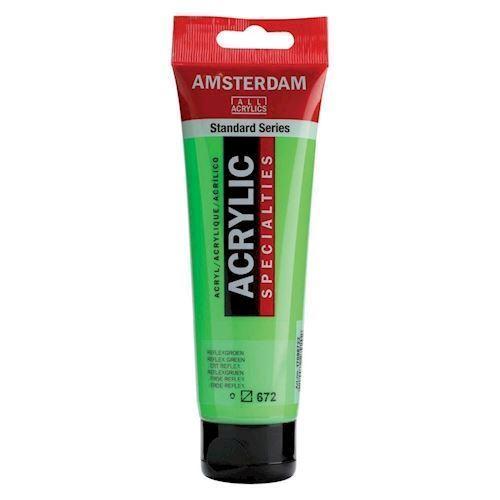 Image of   Amsterdam Akryl maling Reflex grøn, 120ml