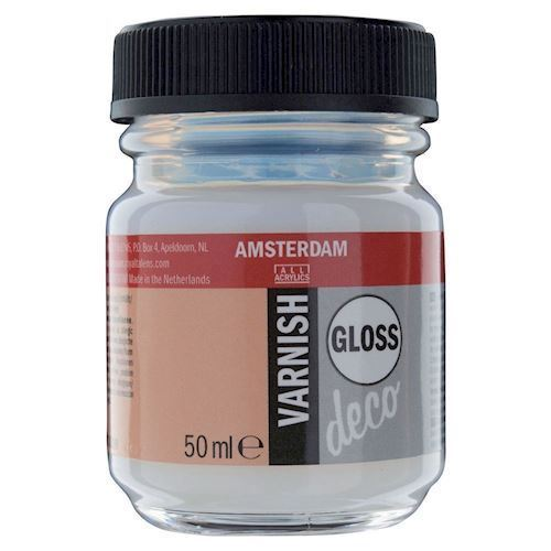 Image of   Amsterdam Varnish Gloss vandbaseret, 50ml