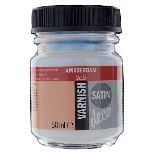Image of   Amsterdam Varnish Satin vandbaseret, 50ml