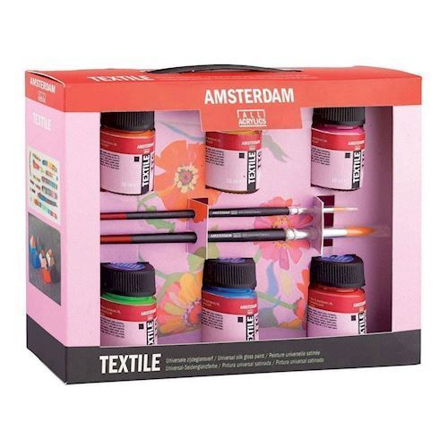 Image of   Amsterdam, tekstil male startsæt