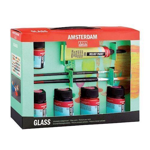 Image of   Amsterdam, glas male startsæt