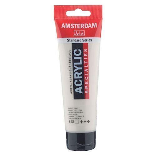 Image of   Amsterdam Akryl maling, perle gul, 120ml