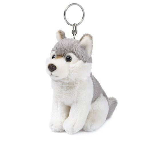 Image of WWF Plush-Wolf key ring, 10 cm (8712269002757)