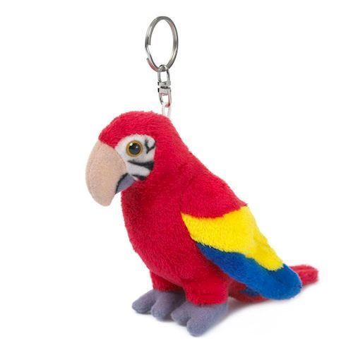 Image of WWF-Parrot Plush key chain, 10 cm (8712269002818)