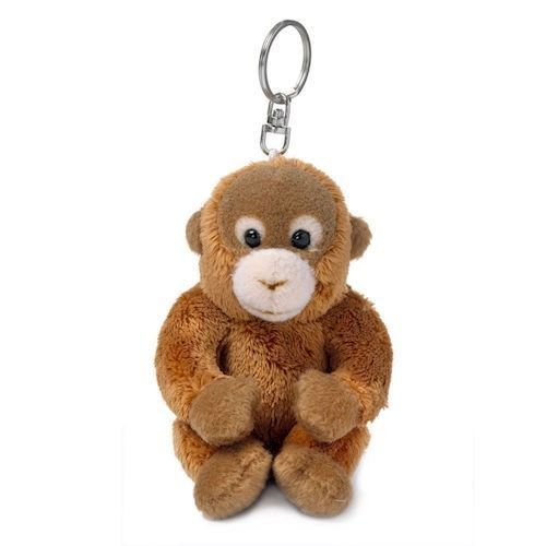 Image of WWF Plush-orangutan key chain, 10 cm (8712269002825)