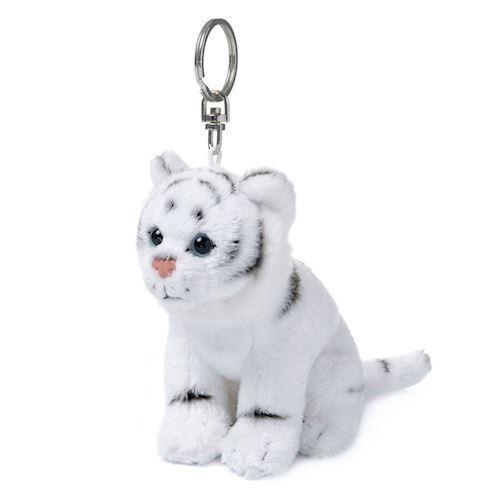 Image of   WWF Plush-White Tiger key chain, 10 cm