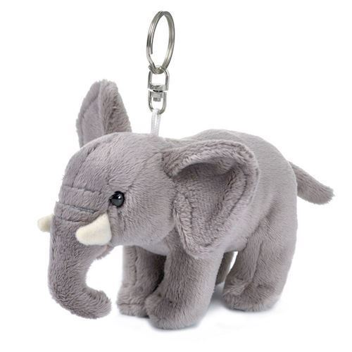 Image of WWF Plush-elephant key chain, 10 cm (8712269002931)