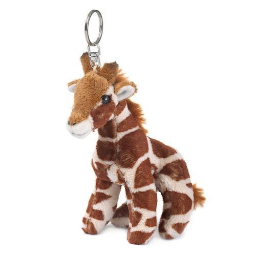 Image of WWF Plush-Giraffe key chain, 10 cm (8712269002948)