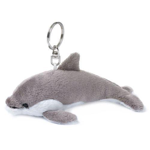 Image of   WWF Plush-Dolphin Keychain, 10 cm