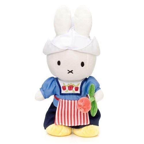 Image of Miffy bamse med bondepige tøj 34cm (8712269011254)