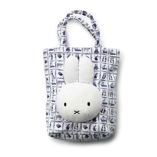 Image of   Miffy, taske med mønster, blå