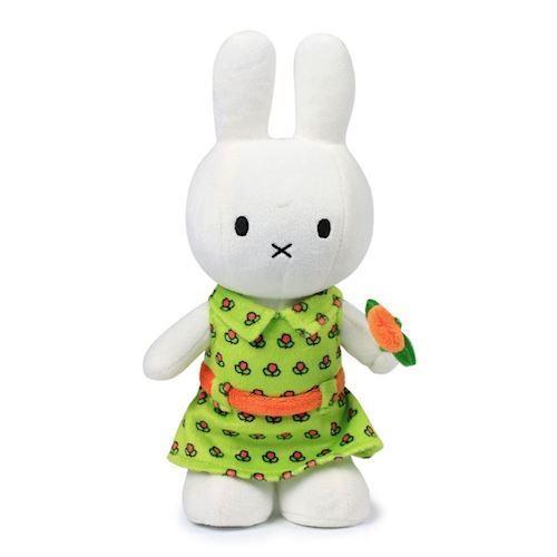 Image of Miffy, bamse med blomsterkjole 24cm (8712269150700)
