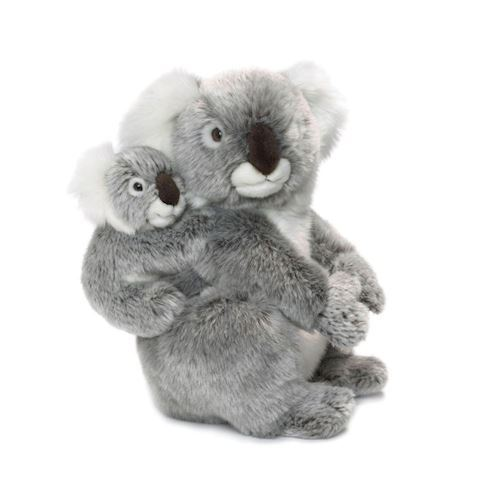 Image of   WWF Plush-Koala with Baby, 28 cm