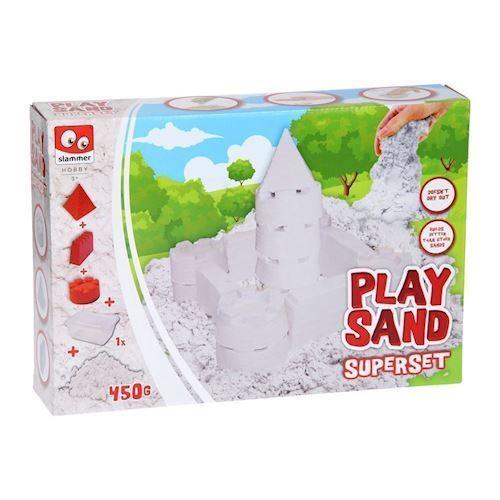 Image of PlaySand - Supersand, Slot legesæt (8712916053774)