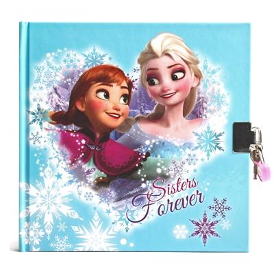 Image of   Disney, Frozen/Frost - Dagbog med lås