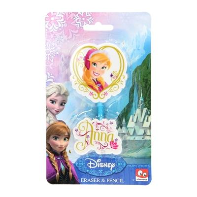 Image of   Disney, Frozen/Frost - Blyant & viskelæder