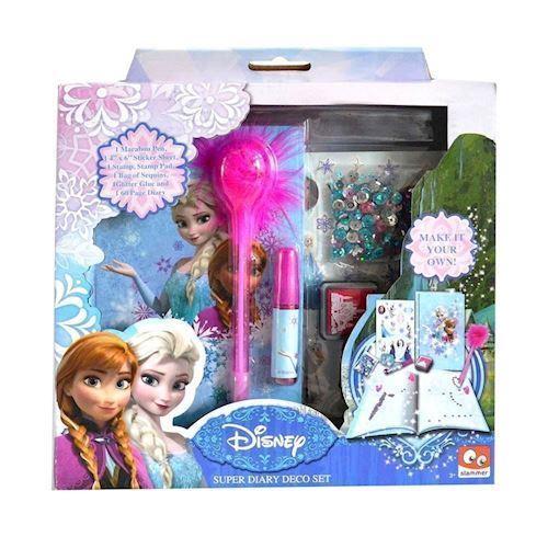 Image of Disney, Frozen/Frost - Dagbog, Design Sæt (8712916058274)