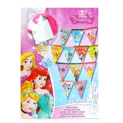 Image of   Disney Princess lav dit eget flagbanner