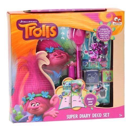Image of Trolls Dekorer din egen dagbog (8712916061076)