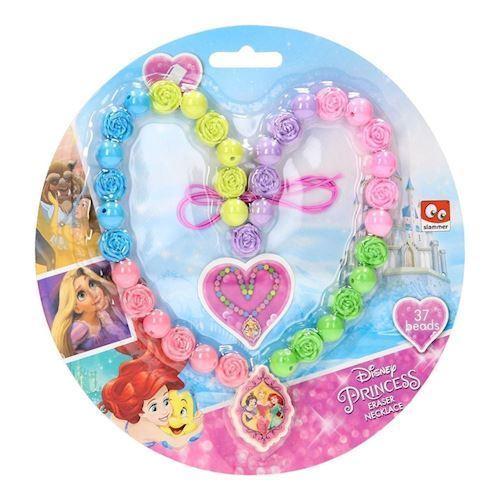 Image of   Disney Princess viskelæder halskæde