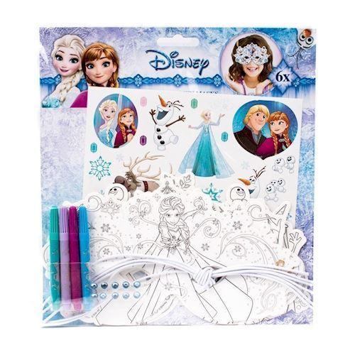 Disney Frozen, lav dine egne masker, 6 stk