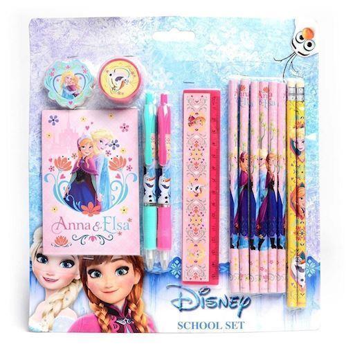 Image of Disney Frozen skole og skrivesæt (8712916066040)