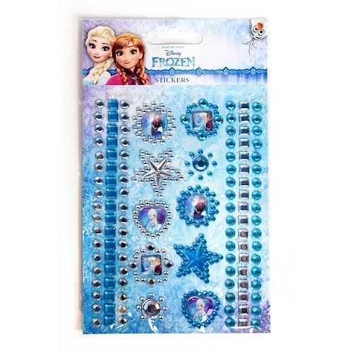Image of   Disney, Frozen/Frost - Diamant klistermærker / Stickers