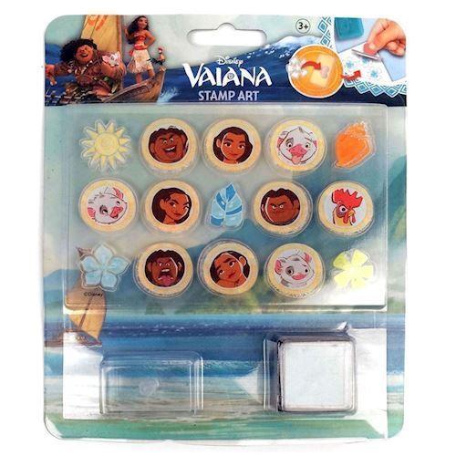 Image of   Disney Vaiana stempelsæt