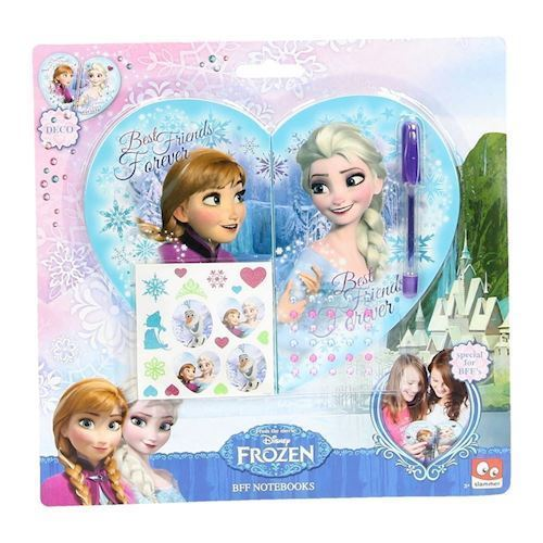 Image of   Disney Frozen BFF Notesbog