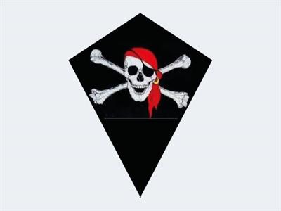 Image of   Drage Diamond Pirat 75x85cm