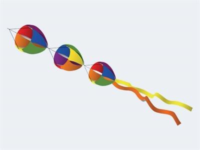 Image of   Vindtunnel Rainbow Spinner 170cm