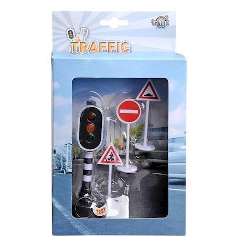 Image of   Legetøj, trafikskilte