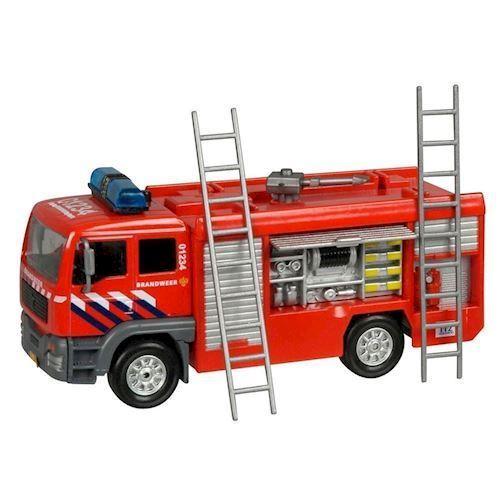 Image of   Brandbil med lys og lyd, legetøjsbil