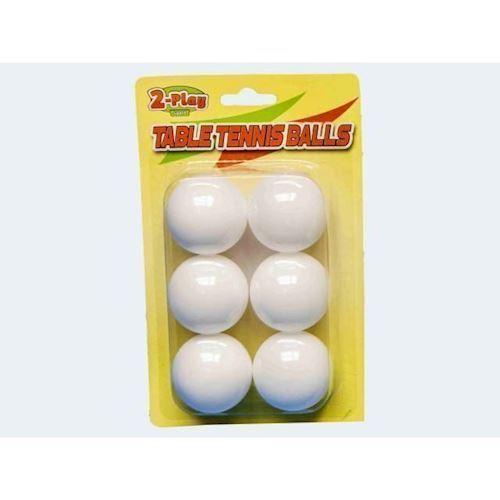 Billede af 6 bordtennis bolde