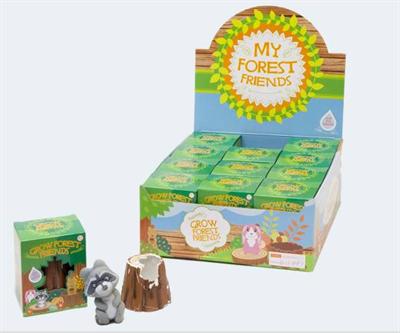 Image of   Forrest friends find din egen ven i træstammen