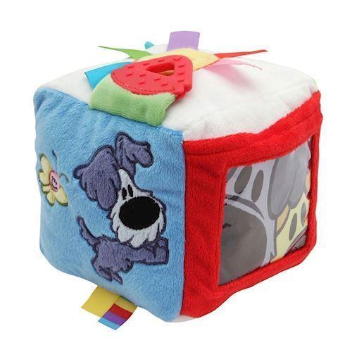 Woezel & Pip plys firkant, baby legetøj
