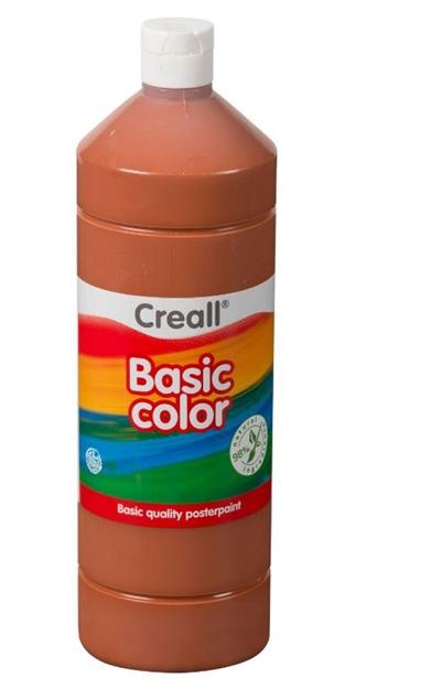 Image of Creall skolemaling lys brun 1 liter (8714181018182)