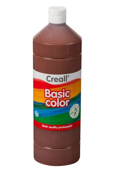 Image of Creall skolemaling mørk brun 1 liter (8714181018199)