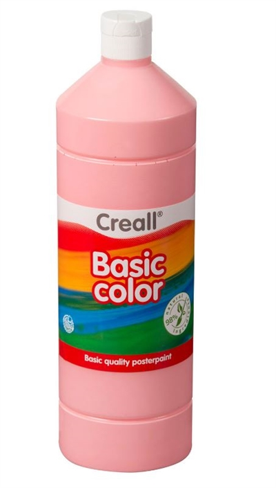Image of Creall skolemaling lyserød 1 liter (8714181018236)