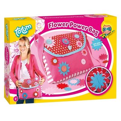Image of   Flower Power børnetaske