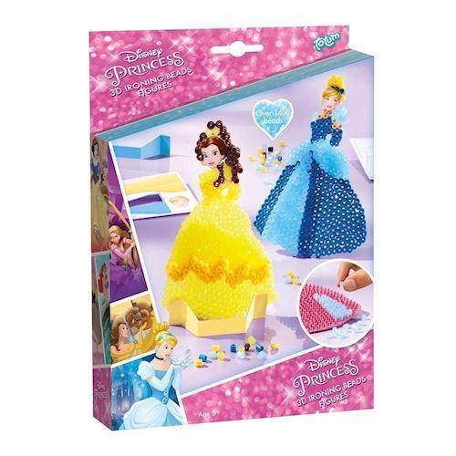 Image of Totum Disney Princess, struge perler, 3D prinsesser