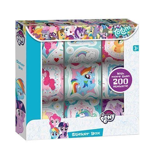 Image of   Totum My Little Pony, klistermærker 9 ruller