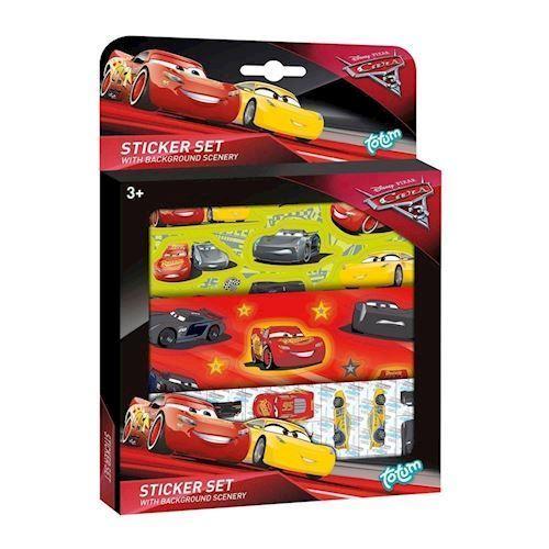 Totum Cars, klistermærker